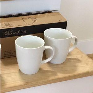 Pampered Chef Coffee Mugs